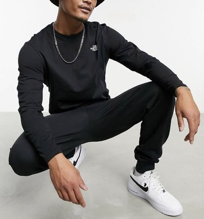 THE NORTH FACE Long Sleeve Crew Neck Long Sleeves Cotton Long Sleeve T-shirt Logo 3