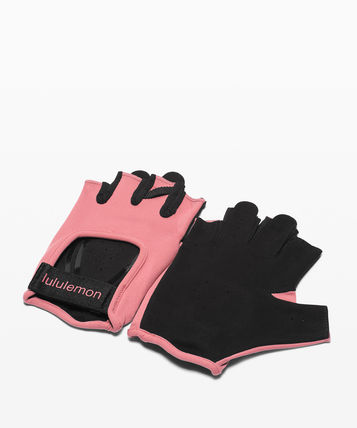 lululemon Blended Fabrics Plain Gloves Gloves