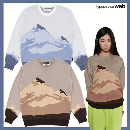 typeservice Sweaters Unisex Collaboration Sweaters