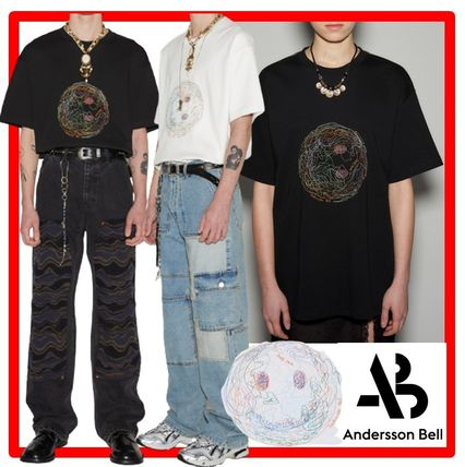 ANDERSSON BELL More T-Shirts Unisex Street Style Cotton Short Sleeves Oversized T-Shirts