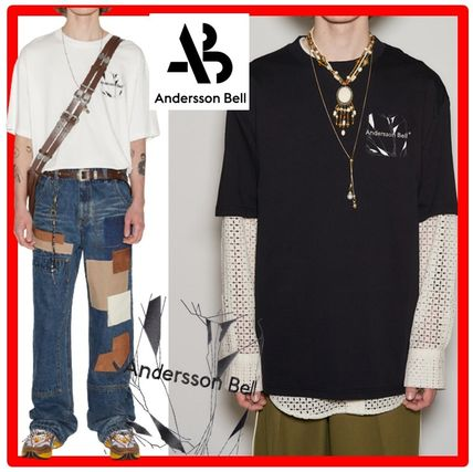 ANDERSSON BELL More T-Shirts Unisex Street Style Cotton Short Sleeves Oversized