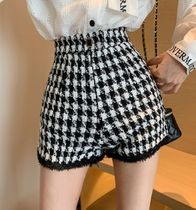 Short Zigzag Casual Style With Jewels Elegant Style