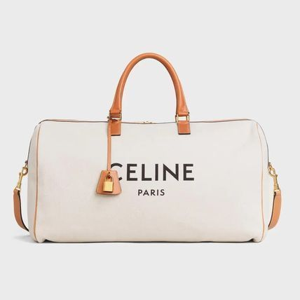 CELINE Canvas Plain Logo Boston & Duffles