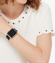 kate spade new york Leather Apple Watch Belt Watches