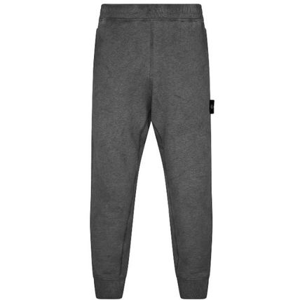 STONE ISLAND Tapered Pants Street Style Plain Cotton Logo Tapered Pants