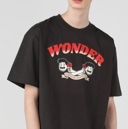 WONDER VISITOR More T-Shirts Unisex Street Style Graphic Prints T-Shirts 2
