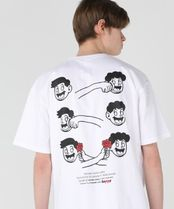 WONDER VISITOR More T-Shirts Unisex Street Style Graphic Prints T-Shirts 8