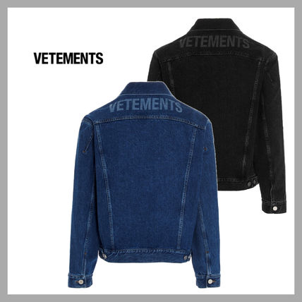VETEMENTS Unisex Street Style Plain Jackets