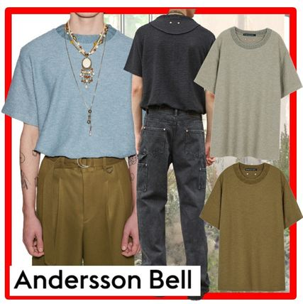 ANDERSSON BELL Sweaters Unisex Street Style Long Sleeves Sweaters