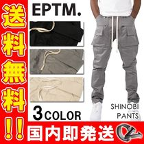 EPTM Tapered Pants Unisex Plain Street Style Tapered Pants
