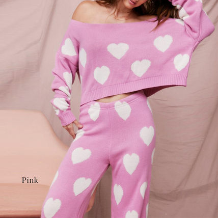 Heart Co-ord Loungewear Lounge & Sleepwear