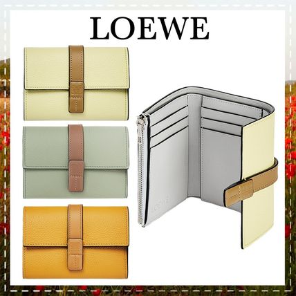 LOEWE Small Vertical Wallet In Soft Grained Calfskin