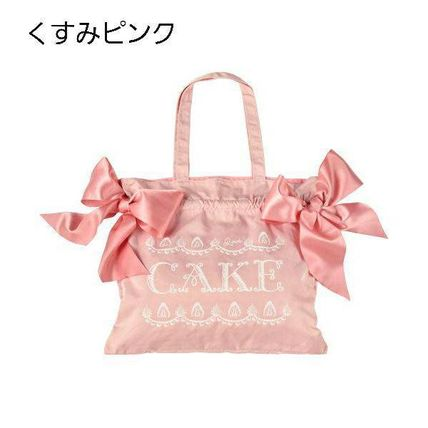 Casual Style A4 2WAY Logo Totes