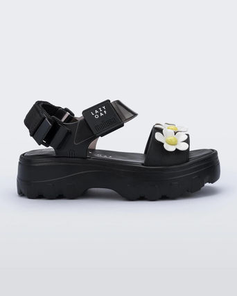 Flower Patterns Platform Casual Style Collaboration