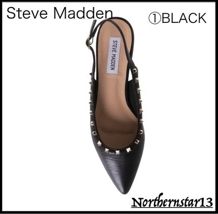 Steve Madden Casual Style Studded Street Style Elegant Style Mules