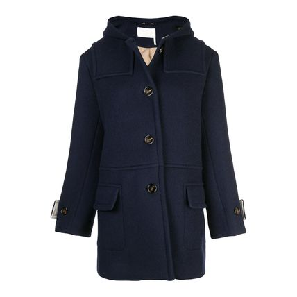Chloe Casual Style Wool Plain Medium Party Style Office Style