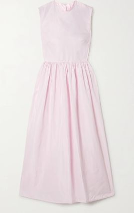 CECILIE BAHNSEN Casual Style Sleeveless Party Style Elegant Style Dresses