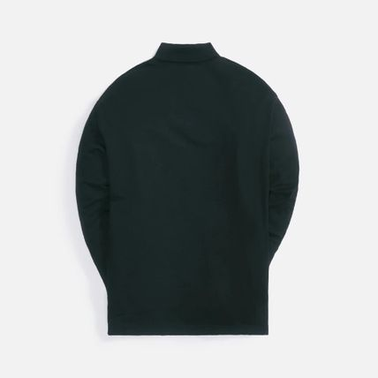 KITH NYC Logo Pullovers Long Sleeves Plain Cotton Street Style Tops