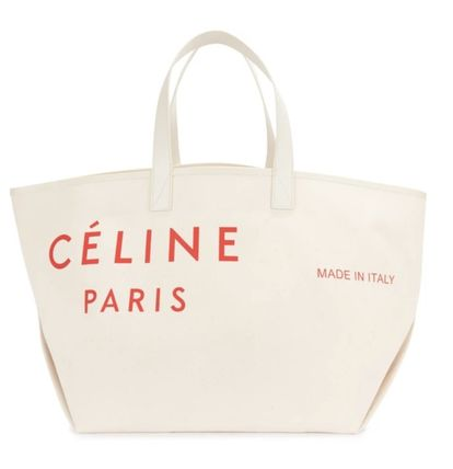 CELINE Casual Style Calfskin Plain Party Style Office Style