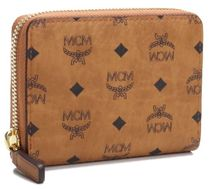 MCM Unisex Street Style Coin Cases