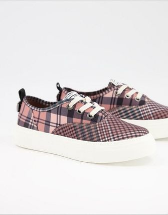 Glen Patterns Other Plaid Patterns Low-Top Sneakers