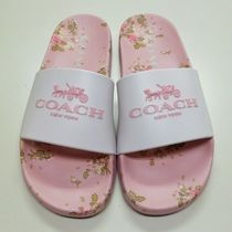 Coach Casual Style Blended Fabrics Sport Sandals Shower Shoes