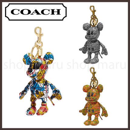 Coach Unisex Collaboration Other Animal Patterns Leather