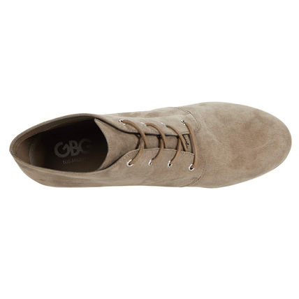 G BY GUESS Round Toe Lace-up Casual Style Lace-up Boots
