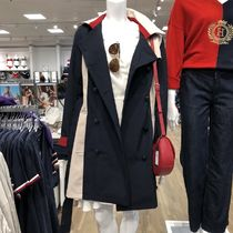 Tommy Hilfiger Logo Trench Coats
