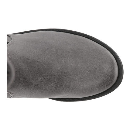 G BY GUESS Round Toe Casual Style Plain Mid Heel Boots