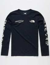 THE NORTH FACE Long Sleeve Street Style Long Sleeves Cotton Long Sleeve T-shirt Logo 4