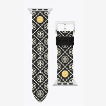 Tory Burch Casual Style Leather Apple Watch Belt Watches