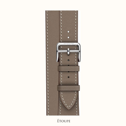 HERMES Leather Elegant Style Formal Style  Watches