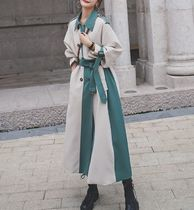 Casual Style Bi-color Long Party Style Office Style