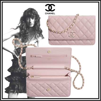 CHANEL MATELASSE Wallet On Chain
