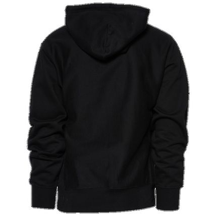 Logo Pullovers Long Sleeves Cotton Street Style Hoodies