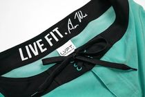 Live Fit More Shorts Street Style Bi-color Shorts 11