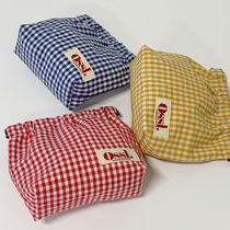 Ossl Gingham Pouches & Cosmetic Bags