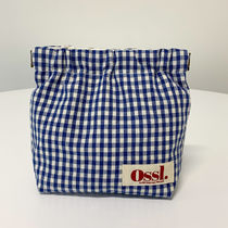 Ossl Pouches & Cosmetic Bags Gingham Pouches & Cosmetic Bags 6
