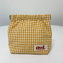 Ossl Pouches & Cosmetic Bags Gingham Pouches & Cosmetic Bags 9