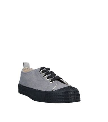Round Toe Lace-up Casual Style Blended Fabrics Street Style