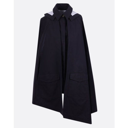 LOEWE Hooded Cape In Cotton