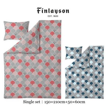 Finlayson Duvet Covers Unisex Pillowcases Comforter Covers Geometric Patterns