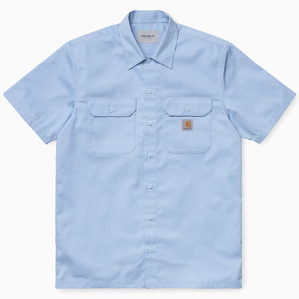 Carhartt Shirts Other Plaid Patterns Street Style Cotton Short Sleeves Logo 2
