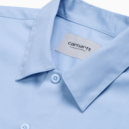 Carhartt Shirts Other Plaid Patterns Street Style Cotton Short Sleeves Logo 3