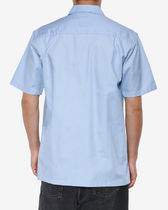 Carhartt Shirts Other Plaid Patterns Street Style Cotton Short Sleeves Logo 6