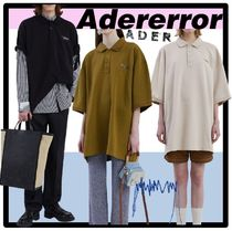 ADERERROR Casual Style Unisex Street Style Polos