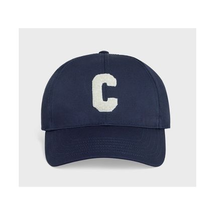 "CELINE ""C"" Baseball Cap In Cotton"