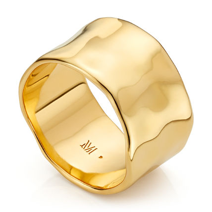 Monica Vinader Costume Jewelry Party Style Elegant Style Rings