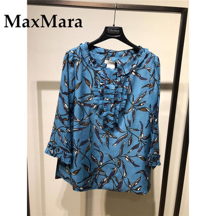 S Max Mara Long Sleeves Medium Tunics